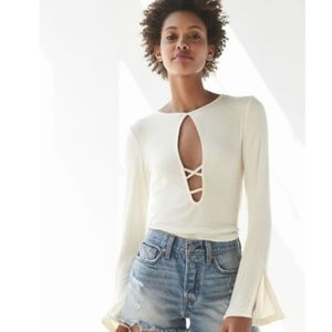 Project Social T x Urban Outfitters Cut-Out Top